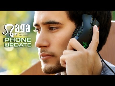 Razer Naga as a phone