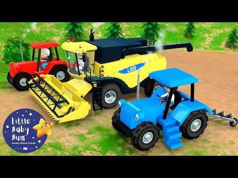 Learn How To Drive A Tractor Song! | Fun #Learning with #LittleBabyBum | #NurseryRhymes for Kids