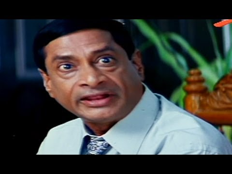 MS Narayana Funny Staff Meeting   Comedy Scene