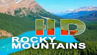 ROCKY MOUNTAINS , CANADA - A WALKING TRAVEL TOUR