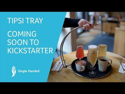 Tipsi Tray Single Handed Carry Tray.