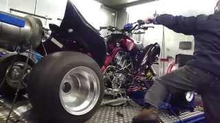 3. Dyno Yamaha Raptor 700 734 Streetfighter @  Hilltech Tuning Kaatsheuvel