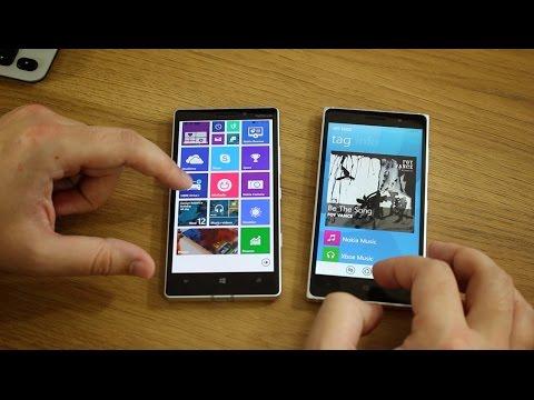 Lumia 930 vs. Lumia 830 - What's the difference? (видео)