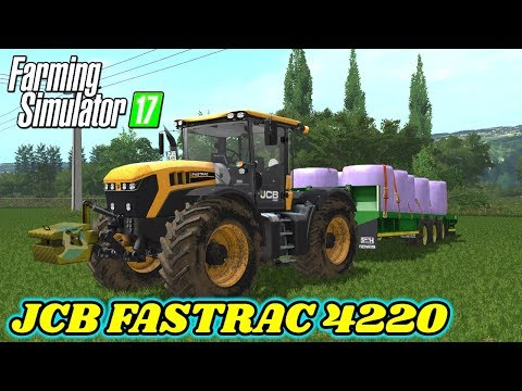 JCB Fastrac 4220 KG and VF converted v1
