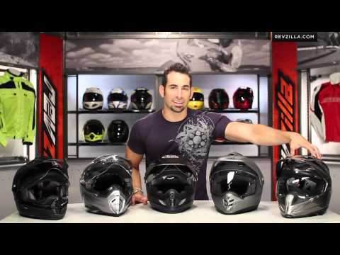 RevZillaTV - Dual Sport Helmet Overview & Buying Guide http://www.revzilla.com/dual-sport-helmets?utm_source=youtube.com&utm_medium=description&utm_campaign=Dual_Sport_He...