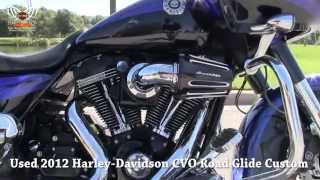 4. Used 2012 Harley Davidson CVO Road Glide For Sale