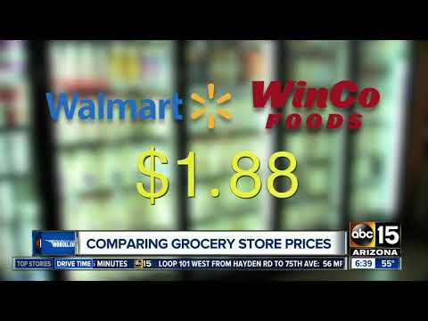 WinCo, Fry's, Safeway or Walmart? Which grocery chain has the lowest prices?