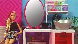 Video Barbie Kuaför Salonu ve ilk Müşterisi Rapunzel   Yıpranmış Saçlara Bakım   EvcilikTV MP3, 3GP, MP4, WEBM, AVI, FLV November 2017