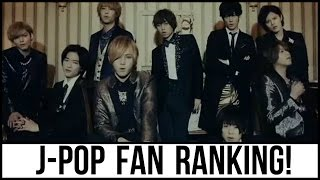 download lagu download musik download mp3 J-POP Boy Group Fan Ranking! (2016)