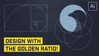 The Golden Ratio for Logo or Icon Design in Illustrator