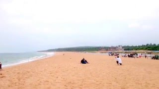 Kovalam / Poovar India  city images : Kerala Tourism - Poovar Islands ( Golden sand beach )