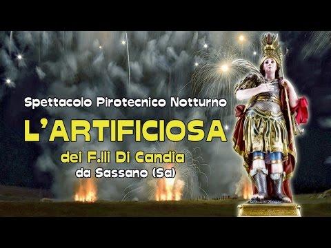 ADELFIA (Ba) - SAN TRIFONE 2016 - L'ARTIFICIOSA dei F.lli Di Candia da Sassano (Sa) - 9 Novembre