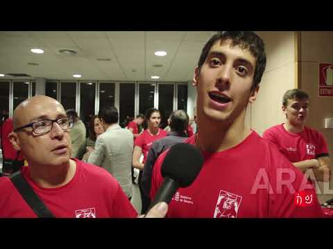Entrevista a Iosu Pérez, Raúl González y Aralar Pérez (Reconocimiento logros deportivos FMIF)