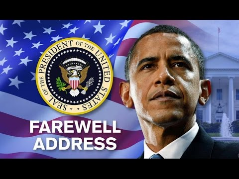 President Barack Obama Delivers Farewell Speech in Chicago Highlights