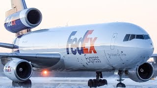 *The Oldest Flying DC-10!!* FedEx DC-10 (DC10) landing and departing Montreal- (YMX/CYMX)