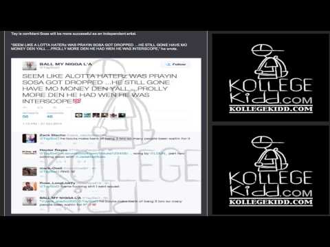 Calls - Read FULL Story Here: http://kollegekidd.com/news/tay600-calls-interscope-decision-to-drop-chief-keef-a-bad-move-sosa-like-da-dr-dre-of-chicago ~Subscribe & Follow https://KollegeKidd.com on...
