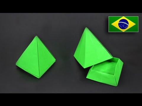 Caixa Pirâmide - modelo 2