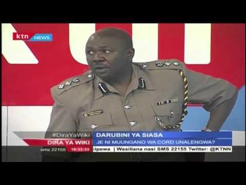 Darubini ya Siasa: Nguvu za polisi zinatumika hadi wapi