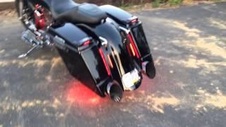 7. Killer 2006 Harley Street Glide - Boom Cans - Baddad