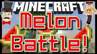 Minecraft Clay Soldiers - MIGHTY MELON Battle ! Clay Soldiers Subs Arena Bet Match Fight #88!