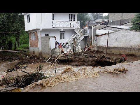 Μεξικό: Στο έλεος της τροπικής καταιγίδας Ερλ