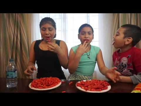 Video FUNNY HOT CHEETOS & TAKIS CHALLENGE download in MP3, 3GP, MP4, WEBM, AVI, FLV January 2017