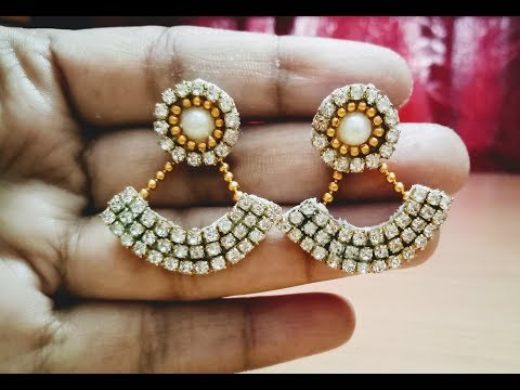 How to make designer earrings