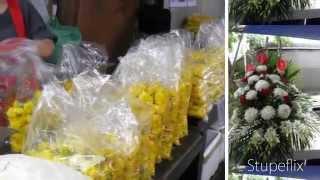 Jewel&Janice At The Pak Klong Flower Market Bangkok