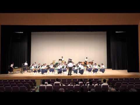 第45回 豊浦地区吹奏楽演奏会 下関市立菊川中学校  行進曲「勇気のトビラ」 風の島~吹奏楽のための詩曲~」