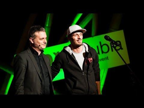 A vers halott, de jól érzi magát: Nyáry Krisztián és Süveg Márk Saiid at TEDxDanubia 2014