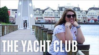 8. Exploring Disney's Yacht Club | Walt Disney World June 2018
