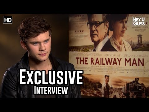 Jeremy Irvine - The Railway Man Exclusive Interview