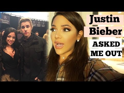 Justin Bieber asked me out  (not clickbait)