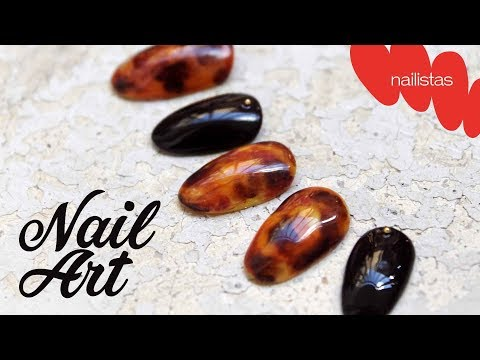 Videos de uñas - NAIL ART: UÑAS DE CAREY PASO A PASO  TORTOISESHELL NAILS