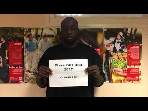 L'IECI LANCE SON 1ER CLASS GIFT POUR LES PROJETS ÉTUDIANTS