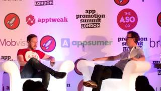 More at http://apppromotionsummit.comJames Bott, Ceo & Co-Founder of The Aso Co and Sam Saares, Senior Manager, Aso & User Acquisition of Rational Group in discussion at App Promotion Summit London on the topic of 'Discussion: Achieving International Growth Through Aso'