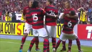Flamengo 1 x 0 Coritiba - GOL de Jael - Brasileirão 2011 - 06/08/2011