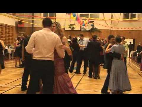 Myslivecký ples v Oldřišově