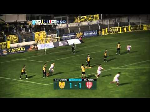 Todos los goles. Fecha 32. Primera B Nacional 2015.