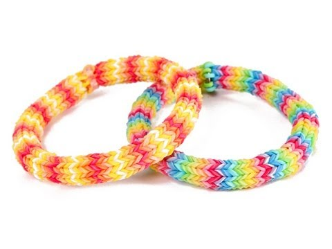 How to make the Hexafish Rainbow Loom Bracelet with 1 Loom Kit