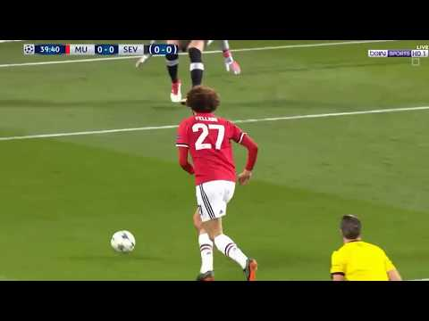 Man United vs Sevilla 1-2 Highlights & Goals 13/03/2018 HD (Full MAtch)