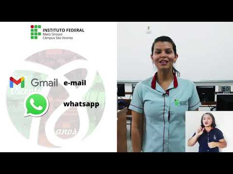 Sejam bem-vindos ao IFMT São Vicente - ano letivo 2021