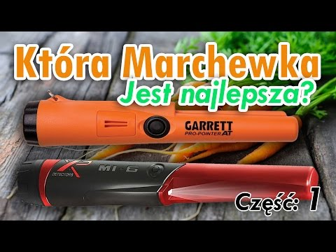Nowości XP Metal Detectors. Mi-6 pinpointer vs Garrett PRO-Pointer AT 1/2 (SUBTITLES)