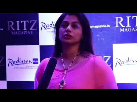 Pinky Reddy - Video bite at the Launch of RITZ Telangana Edition