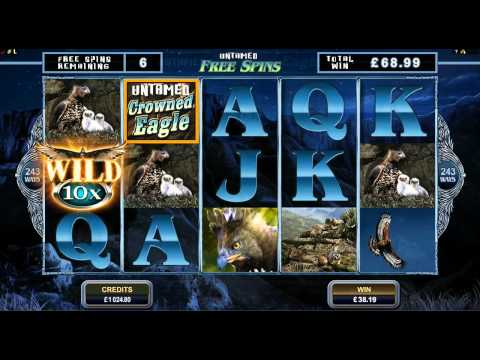 Untamed Crown Eagle Slot Game Promo