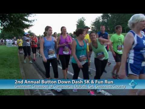 Gwinnett Chamber's 2nd Annual Button Down Dash Made Great Strides in Achieving Goals of a Healthier and More Caring Community