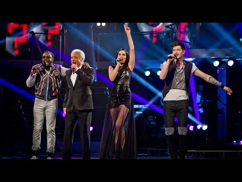 coaches - http://www.bbc.co.uk/thevoiceuk Singing mega hits 'It's Not Unusual', 'Price Tag', 'Where Is The Love' and 'Breakeven', our four superstar coaches mix things...