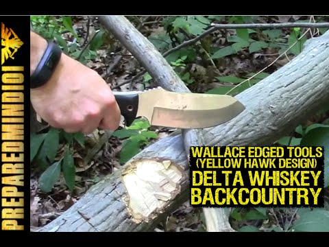 Delta Whiskey Backcountry by Wallace Edged Tools and Doug Wilson -Preparedmind101