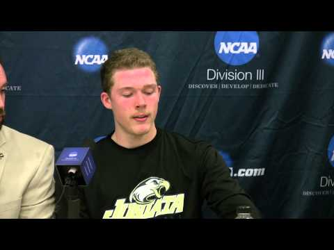 2013 NCAA Quartfinal Post-game vs. Rivier