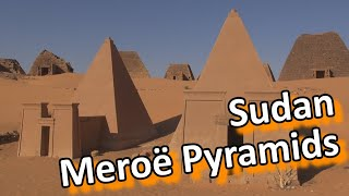 Meroë is an ancient city on the east bank of the Nile approximately 200 km north-east of Khartoum, Sudan. It was the capital of the Kingdom of Kush for sever...